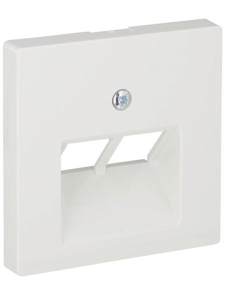 merten UAE-Abdeckung, System M, 2-fach, Polarweiß, Kunststoff