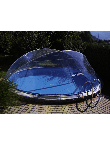 KWAD Überdachung »Cabrio Dom«, BxL: 370 x 730 cm, Polyvinylchlorid/Aluminium
