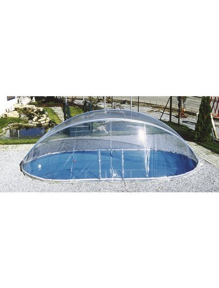 SUMMER FUN Überdachung »Cabrio Dome«, ØxH: 420 x 145 cm, Aluminium/Polyvinylchlorid