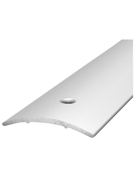 CARL PRINZ Übergangsprofil, BxHxL: 30 x 3 x 1000 mm, silberfarben
