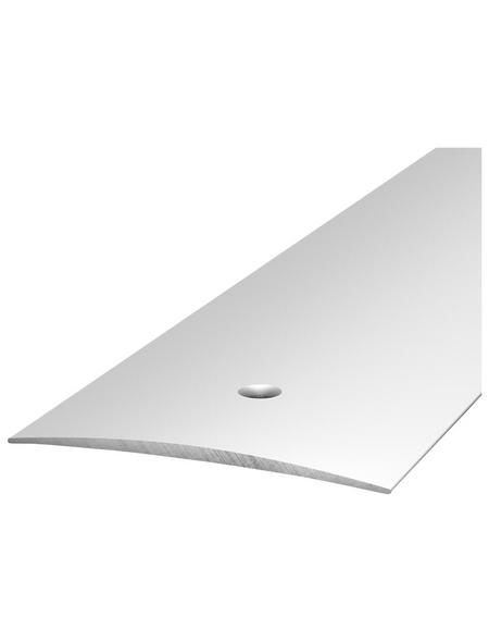 CARL PRINZ Übergangsprofil, BxHxL: 40 x 4 x 1000 mm, silberfarben