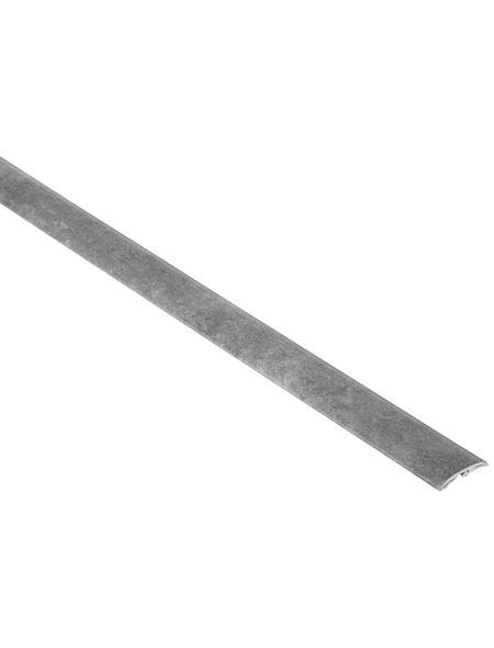 FN NEUHOFER HOLZ Übergangsprofil »Dowel-Fix Nr. 6«, betonfarben, BxLxH: 37 x 900 x 5 mm