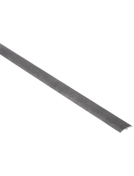 FN NEUHOFER HOLZ Übergangsprofil »Dowel-Fix Nr. 6«, grau, BxLxH: 37 x 900 x 5 mm