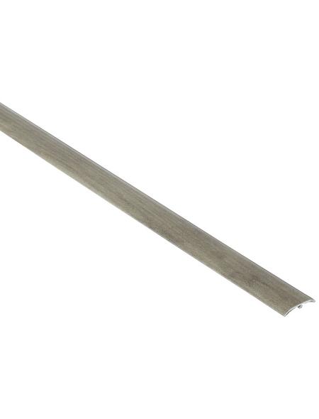 FN NEUHOFER HOLZ Übergangsprofil »Dowel-Fix Nr. 6«, pewter, BxLxH: 37 x 900 x 5 mm