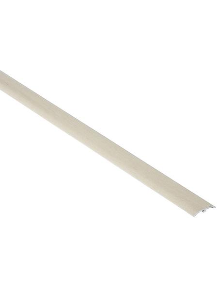 FN NEUHOFER HOLZ Übergangsprofil »Dowel-Fix Nr. 6«, white, BxLxH: 37 x 900 x 5 mm