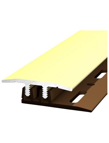 CARL PRINZ Übergangsprofil »PROFI-DESIGN«, saharagelb, BxLxH: 27 x 900 x 6 mm