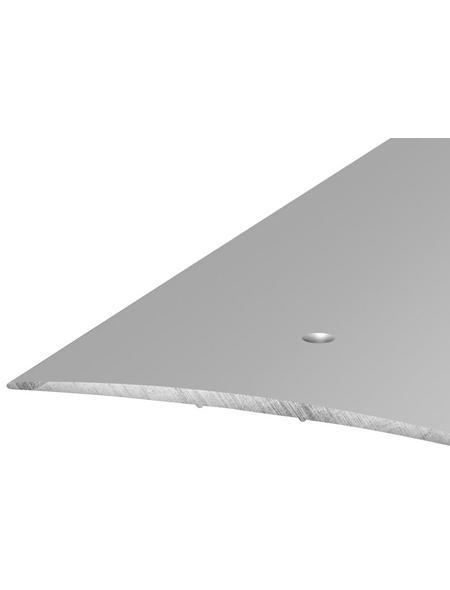 CARL PRINZ Übergangsprofil, silberfarben, BxLxH: 100 x 1000 x 5 mm