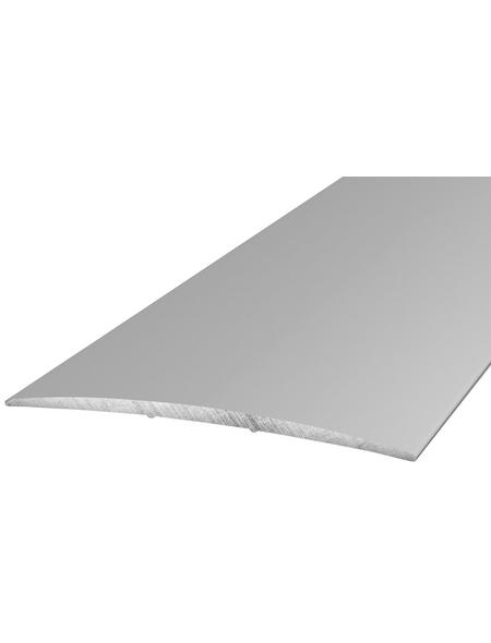 CARL PRINZ Übergangsprofil silberfarben, BxLxH: 80 x 1000 x 5 mm