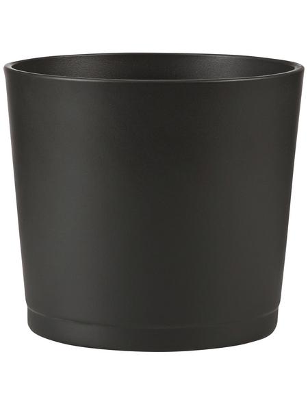 SCHEURICH Übertopf »BASIC«, Breite: 13 cm, grau, Keramik