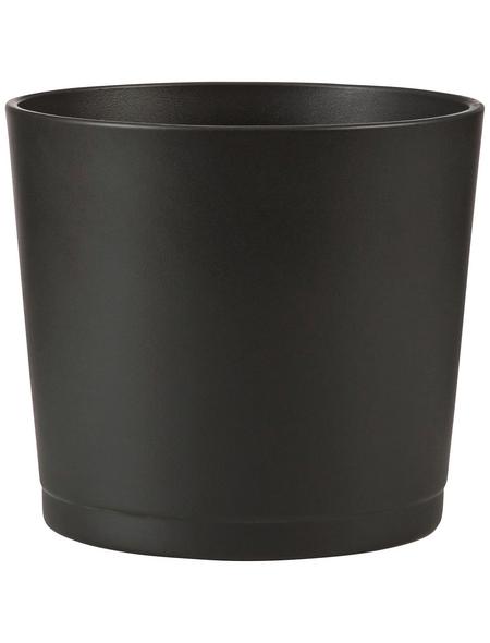 SCHEURICH Übertopf »BASIC«, Breite: 28 cm, grau, Keramik