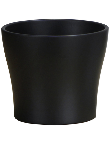 SCHEURICH Übertopf, Breite: 11 cm, grau, Keramik