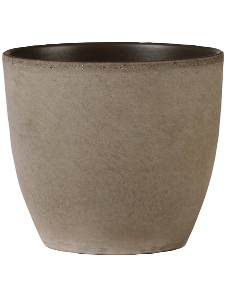 SCHEURICH Übertopf, Breite: 19 cm, braun, Keramik
