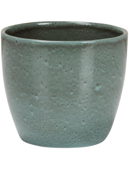 SCHEURICH Übertopf »SHADES«, ØxH: 13 x 11,5 cm, grün, Keramik