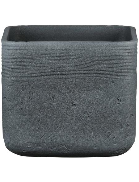 SCHEURICH Übertopf »SOLID«, Breite: 14,5 cm, grau, Keramik