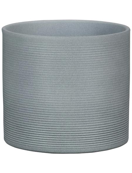SCHEURICH Übertopf »STONE«, ØxH: 12 x 11 cm, grau