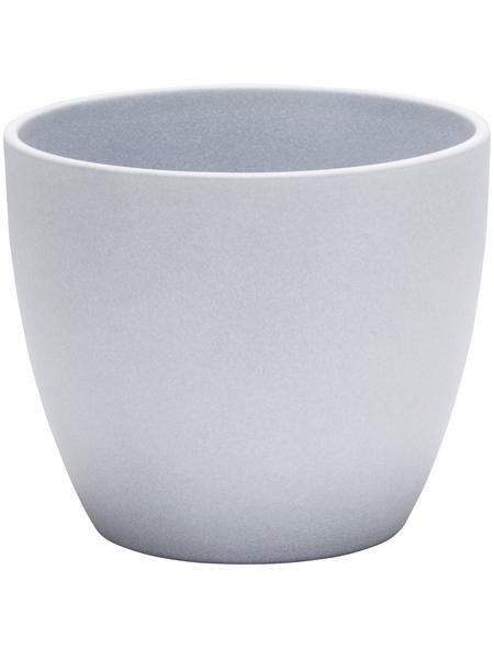 SCHEURICH Übertopf »STONE«, ØxH: 28 x 25,2 cm, grau, Keramik