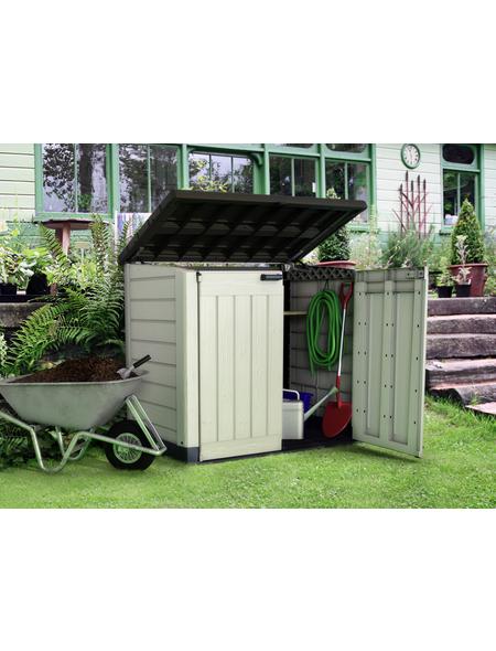 TEST RITE tepro GmbH Universalbox, aus Stahlblech, 146x125x82cm (BxHxT), 240 Liter