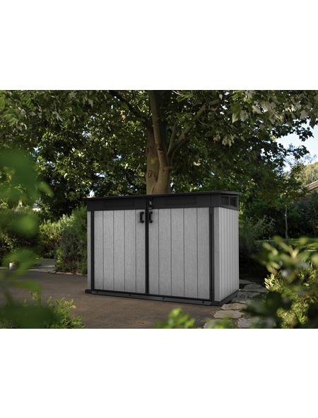 TEST RITE tepro GmbH Universalbox, aus Stahlblech, 190,5x132,5x109,3cm (BxHxT), 2.100 Liter