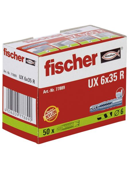 FISCHER Universaldübel, 50 Stück, 6 mm