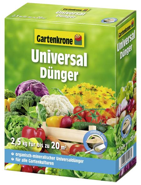 GARTENKRONE Universaldünger 2,5 kg
