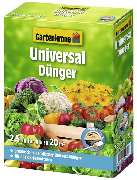 GARTENKRONE Universaldünger Bio 2,5 kg