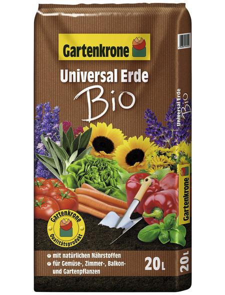 GARTENKRONE Universalerde »Bio«, für Zimmer-,Balkon- und Terassenpflanzen