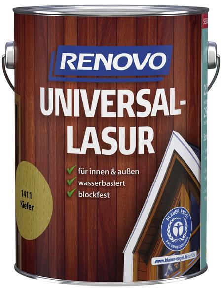 RENOVO Universallasur, für innen & außen, 2,5 l, Eiche, seidenglänzend