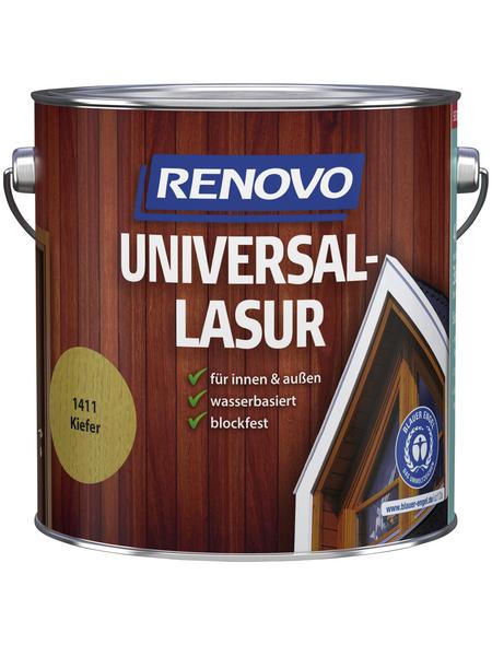RENOVO Universallasur, für innen & außen, 4 l, Kiefer, seidenglänzend