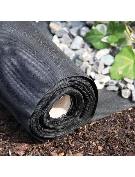 BELLISSA Unkrautvlies, Kunststoff, schwarz, BxL: 0,9 x 10 m