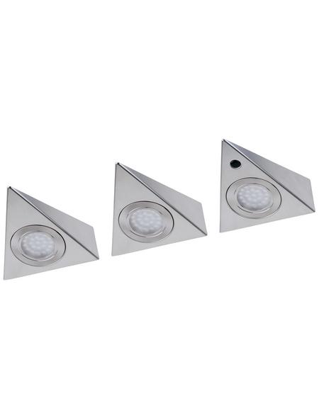 MÜLLER LICHT Unterbauleuchte »Trios«, Aluminium