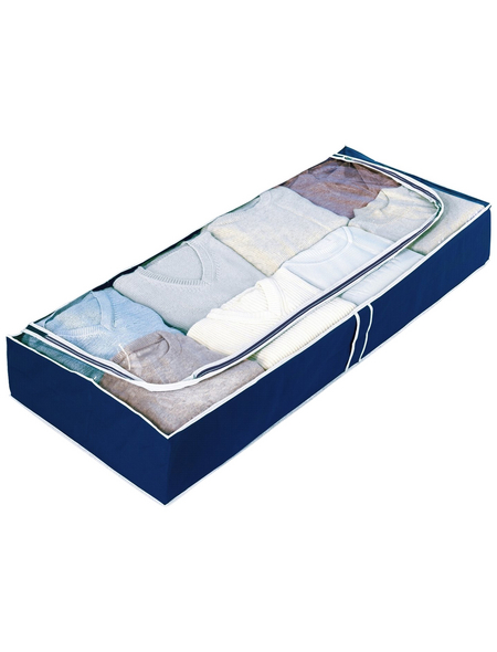 WENKO Unterbettkommode »Air«, BxHxT: 103 x 16 x 45 cm, Polypropylen (PP), dunkelblau