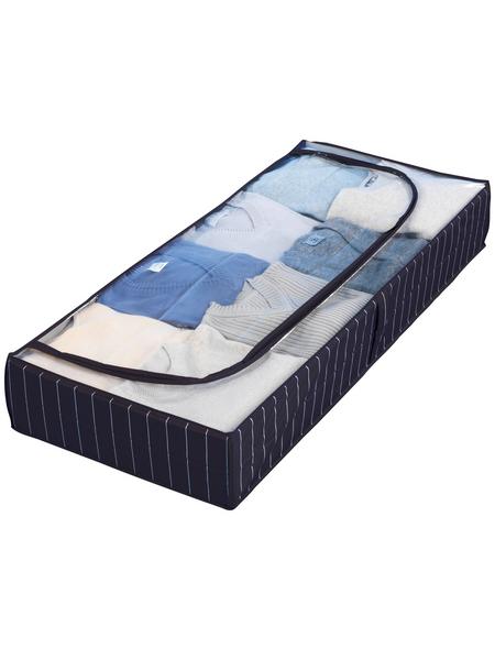 WENKO Unterbettkommode »Comfort«, BxHxL: 105 x 15 x 45 cm, Polyethylen-Vinylacetat (PEVA), blau