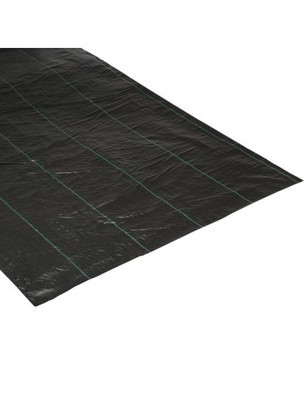 WINDHAGER Unterbodengewebe, Kunststoff, schwarz, BxL: 2 x 25 m