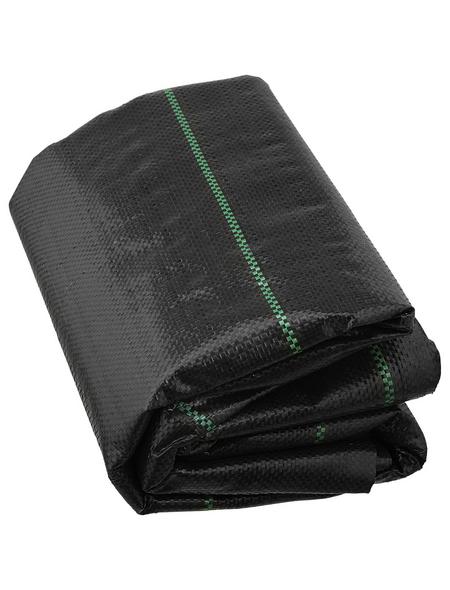 WINDHAGER Unterbodengewebe, Kunststoff, schwarz, BxL: 2 x 5 m