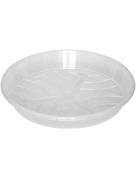 GELI Untersetzer, transparent, Kunststoff, rund