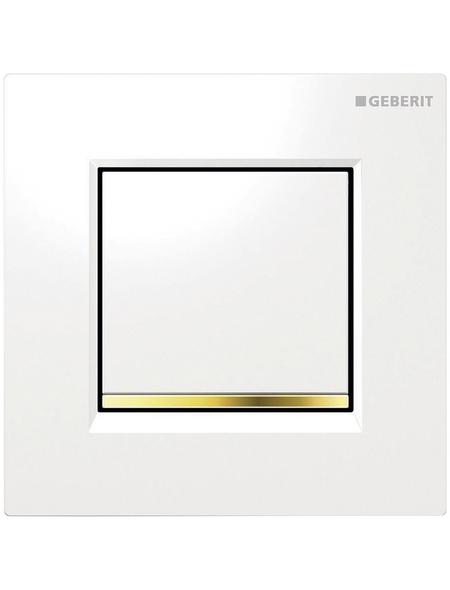 GEBERIT Urinalsteuerung, goldfarben/weiß