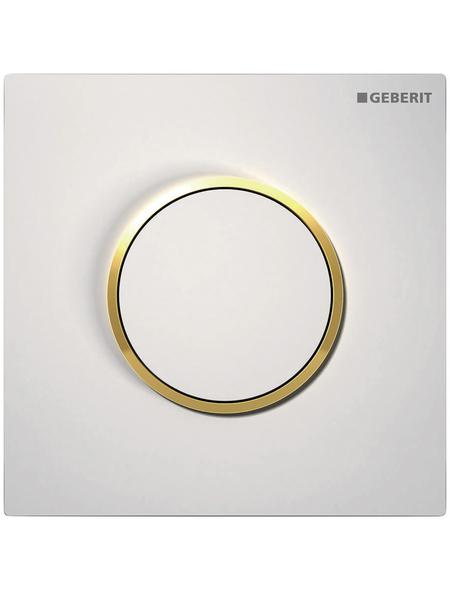 GEBERIT Urinalsteuerung »Sigma«, weiß/goldfarben