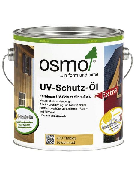 OSMO UV-Schutzöl »Extra«, für außen, 2,5 l, farblos, seidenmatt