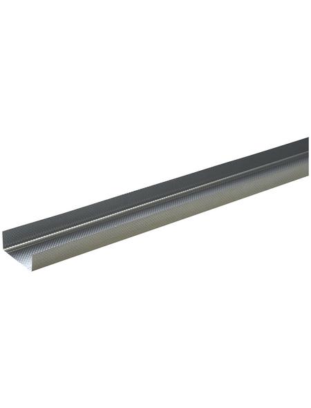 UW-DB Rahmenprofil, LxBxH: 2000 x 100 x 40 mm, Stahl