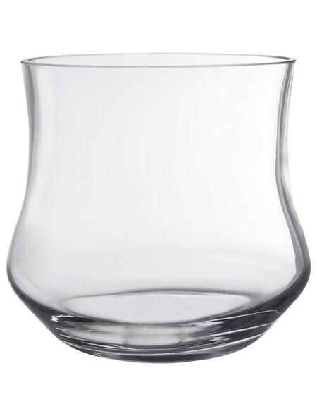 Vase »Kres«, transparent, Glas
