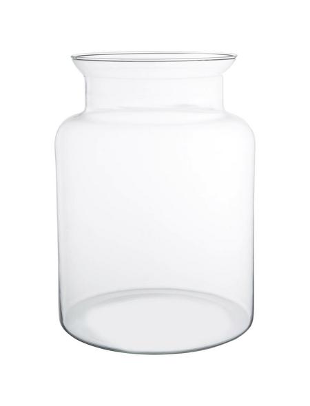 Vase »Mathew«, transparent, Glas
