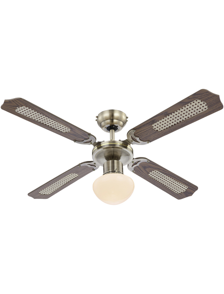 GLOBO LIGHTING Ventilator »CHAMPION«, 60 W, 3 Leistungsstufen, Ø: 106,6 cm