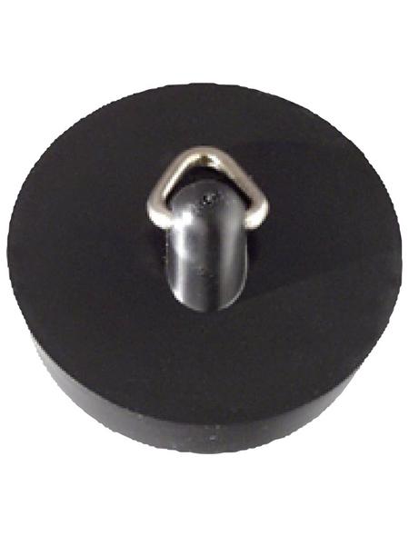 WELLWATER Ventilstopfen, Kunststoff, schwarz