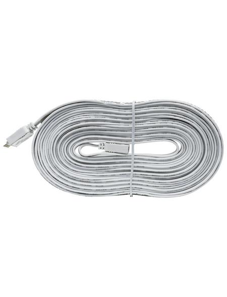PAULMANN Verbindungselement »MaxLED«, Flex-Connector, Kunststoff, weiß