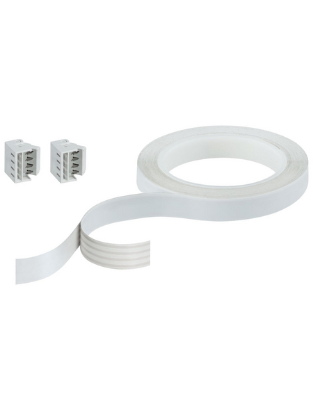 PAULMANN Verbindungselement »YourLED«, Flat-Connector, Kunststoff, weiß