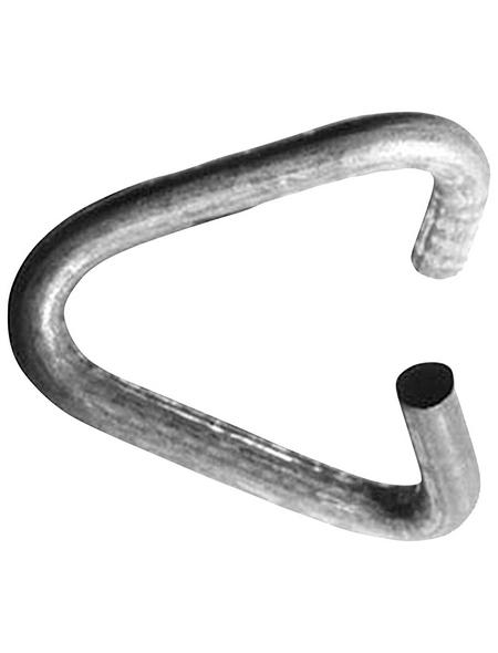 BELLISSA Verbindungsklammer, Länge: 1,5 cm, Stahl