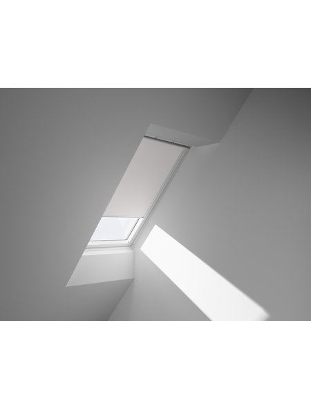 VELUX Verdunkelungsrollo »DKL MK06 1025S«, weiß, Polyester