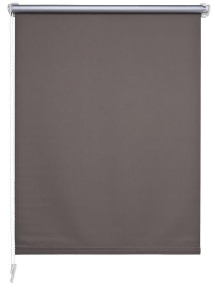 LIEDECO Verdunkelungsrollo »Klemmfix«, stone, Polyester