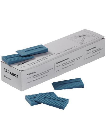 PARADOR Verlegehilfe »Kunststoff-Rastkeile (48Stück/Ve)«
