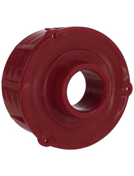FLORAWORLD Verschlussstopfen »Comfort, Classic«, Ø: 5 mm, Kunststoff, rot